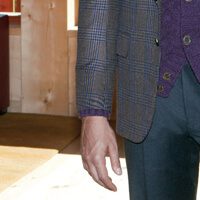 How to tailor off the rack suit: choosing jacket length