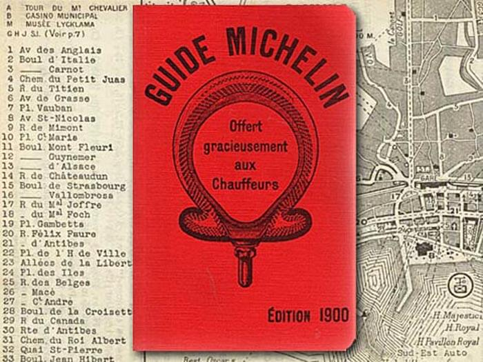 Michelin Guide - 1900
