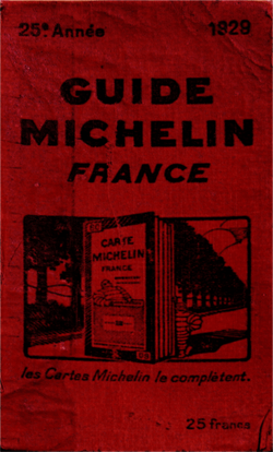 Michelin Guide 1928