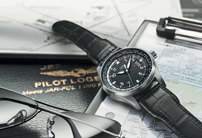 IWC Schaffhausen Big Pilot's Watch Worldtimer