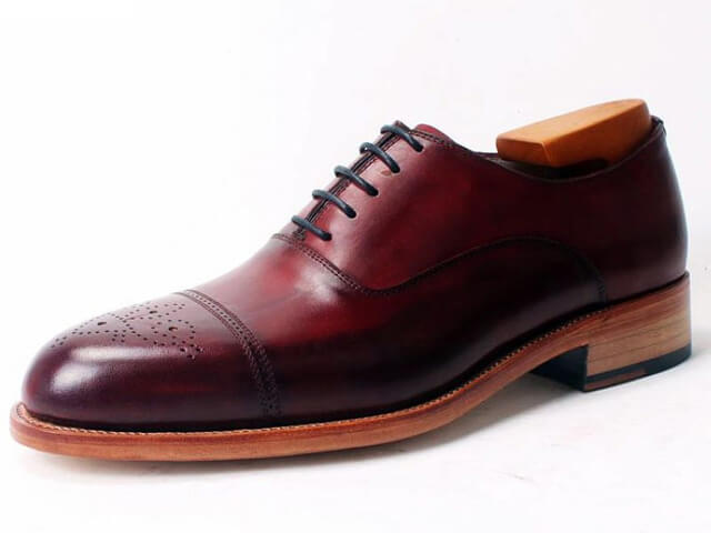 Handmade Oxford shoes