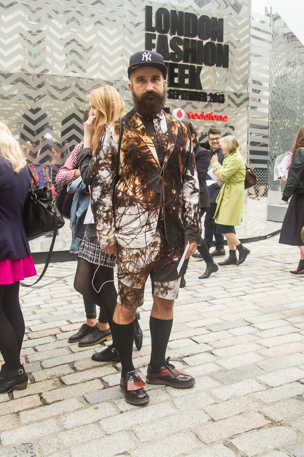 Street Style Shots: London Fashion Week Day 2