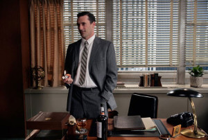 Mad Men Perfectly tailored suit