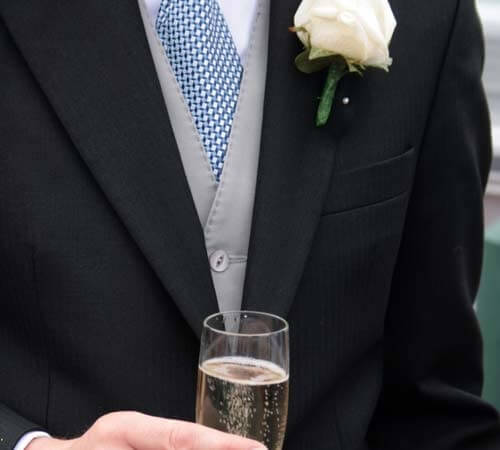 Formal wedding attire for men