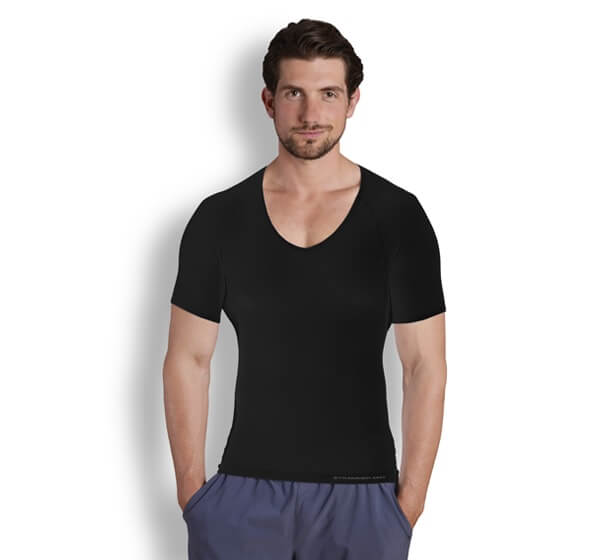 StrammerMax T-shirt in blackStrammerMax V-neck T-shirt in black