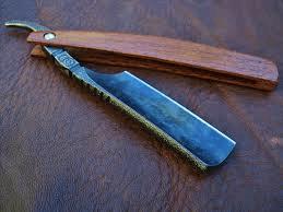 A classic straight razor