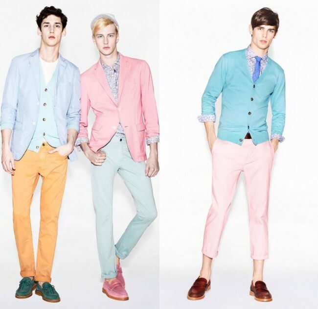 Pastel Colors: The 2017 Summer Trend for Men