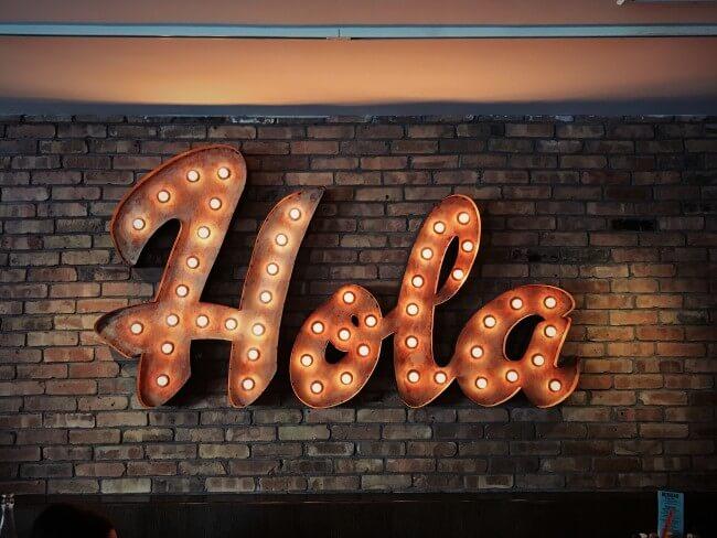 hello in spanish hola