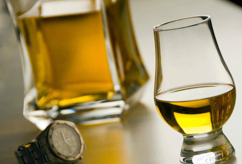 Glencairn scotch tasting glass