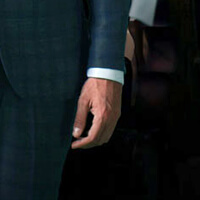 How to tailor off the rack suit: sleeve length