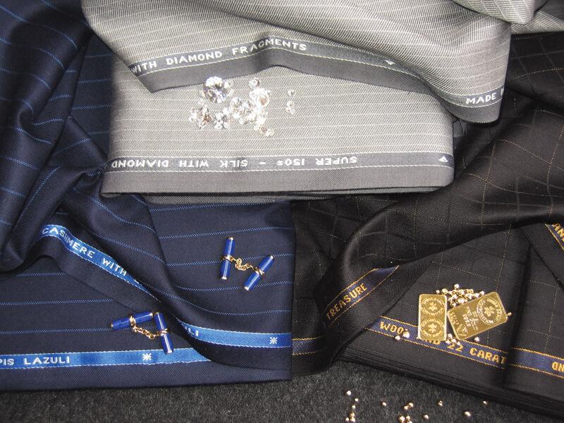 Men's suits - materials
