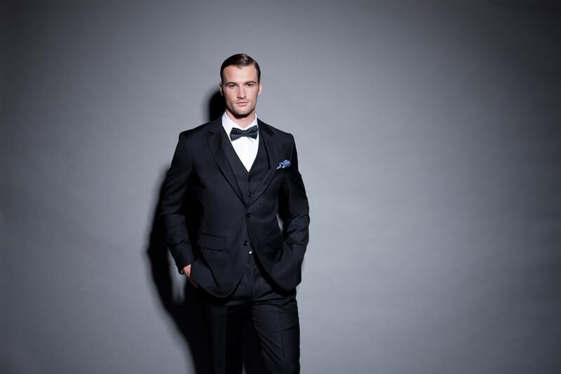 Men's style - three piece suit