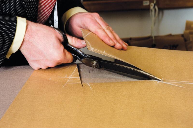 Bespoke pattern cutting