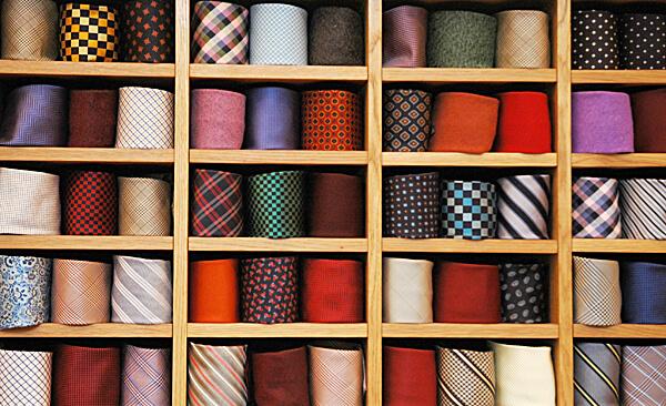 Building suitable men's wardrobe.