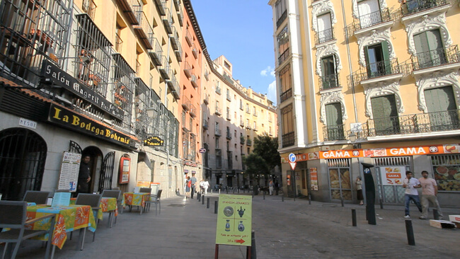 Madrid Tapas Guide, old town