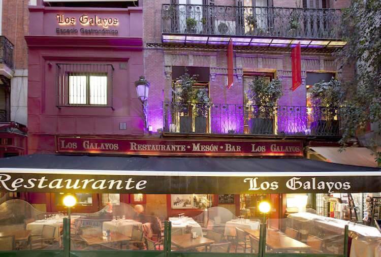 Madrid Tapas Guide, Taberna Los Galayos