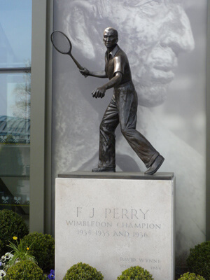 Wimbledon - Fred Perry