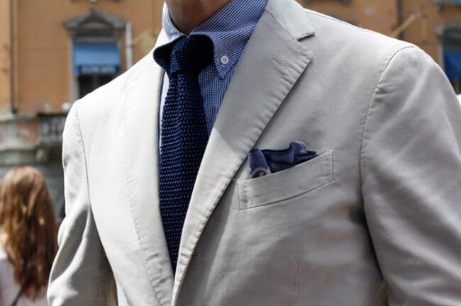 Milan Street Style Tie