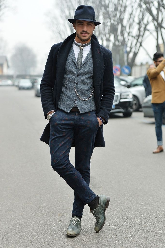 The elements of dandy fashion