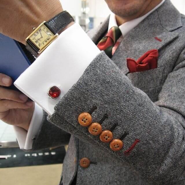 Luxury gemstone cufflinks