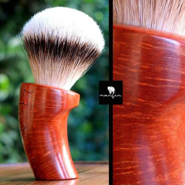 A Marfin Hand-carved Shave Brush