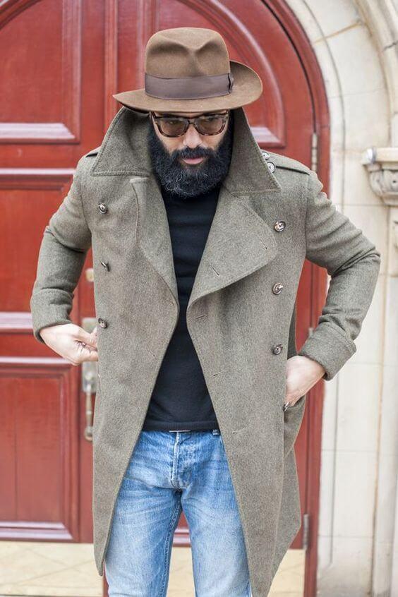 how to wear a hat gentlemen