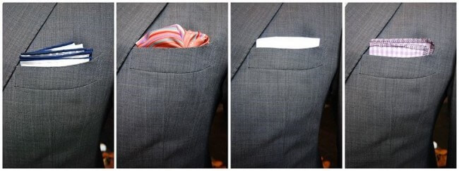 pocket square variations