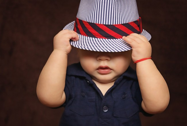 Gentleman kid boy